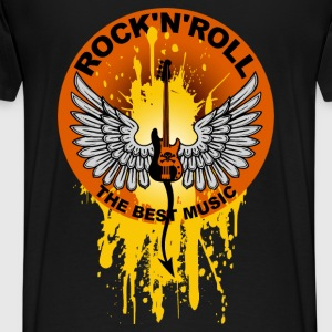 Rock 'n' Roll 01 Hoodies & Sweatshirts - Men's Premium T-Shirt