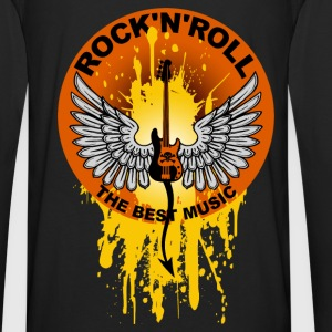 Rock 'n' Roll 01 Hoodies & Sweatshirts - Men's Premium Longsleeve Shirt