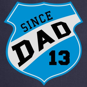 DAD SINCE 2013 Shield Design 3C T-Shirt SK - Tablier de cuisine