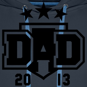 DAD 2013 3star Shield Design T-Shirt WN - Premium hettegenser for menn