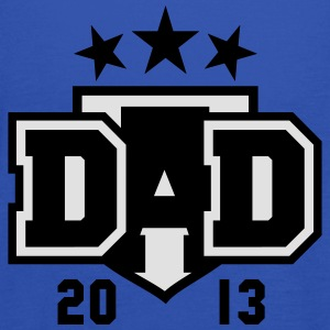 DAD 2013 3star Shield Design T-Shirt 2C RW - Débardeur Femme marque Bella