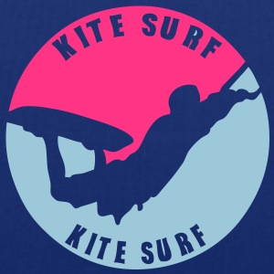 kitesurf vague3 logo tampon 14122 Tee shirts - Tote Bag