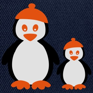 Penguins with Beanie T-shirts - Snapbackkeps