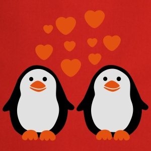 Penguins in Love T-shirts - Förkläde