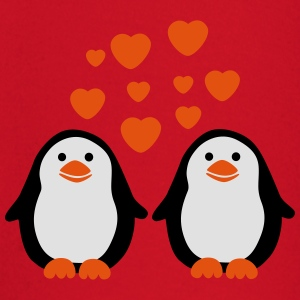 Penguins in Love T-shirts - Långärmad T-shirt baby