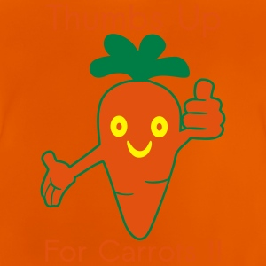 Happy Carrot Thumbs Up Shirts - Baby T-Shirt
