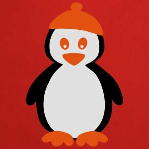 Penguin with Beanie T-shirts - Förkläde