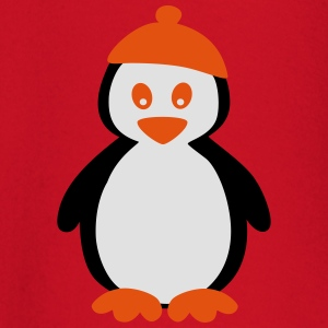 Penguin with Beanie T-shirts - Långärmad T-shirt baby