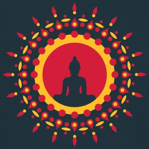 Buddha meditation, spiritual symbol enlightenment Sweatshirts - Herre-T-shirt