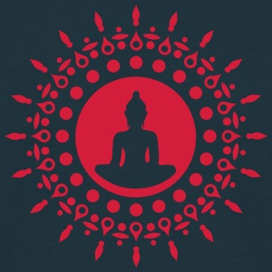 Buddha meditation, yoga, Buddhism, enlightenment Gensere - T-skjorte for menn