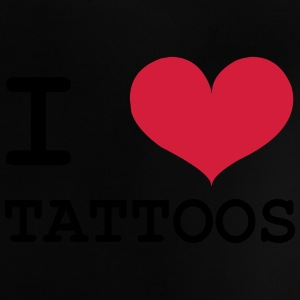 I Love Tattoos Camisetas - Camiseta bebé
