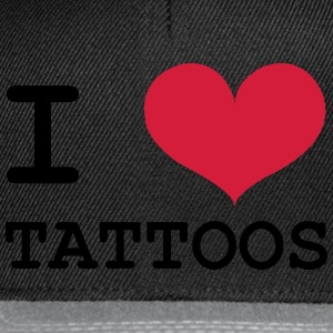 I Love Tattoos Tee shirts - Casquette snapback