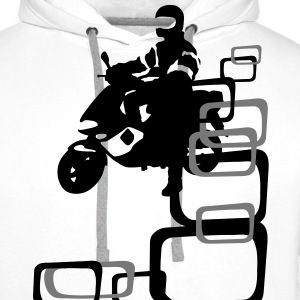 Scooter T-Shirts - Men's Premium Hoodie