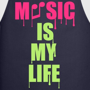 Music Is My Life Camisetas - Delantal de cocina