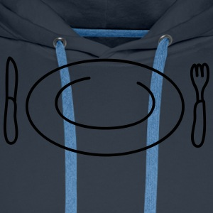 Hungry T-shirts - Mannen Premium hoodie