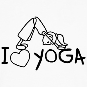 I love Yoga  Shirts - Men's Premium Longsleeve Shirt