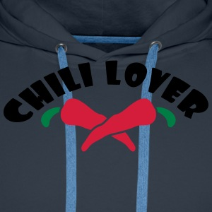 Chili Lover Tee shirts - Sweat-shirt à capuche Premium pour hommes