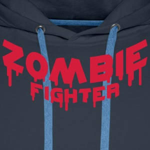Zombie Fighter Tee shirts - Sweat-shirt à capuche Premium pour hommes