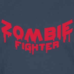 Zombie Fighter Tee shirts - T-shirt manches longues Premium Homme