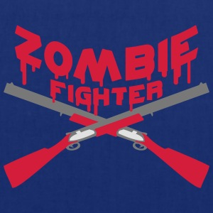 Zombie Fighter Shotguns Camisetas - Bolsa de tela