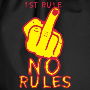 1st rule no fuck insulte doigt finger Sweat-shirts - Sac de sport léger