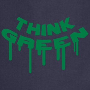 Think Green Graffiti T-shirts - Keukenschort