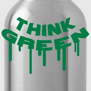 Think Green Graffiti T-Shirts - Trinkflasche
