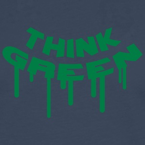 Think Green Graffiti T-Shirts - Männer Premium Langarmshirt