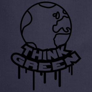 Think Green Earth T-shirts - Keukenschort