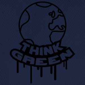 Think Green Earth T-shirts - Baseballcap