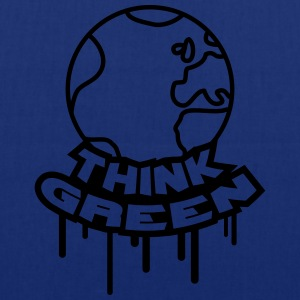 Think Green Earth T-shirts - Tygväska