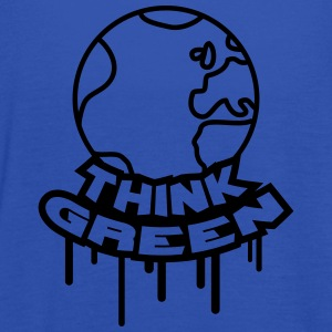 Think Green Earth T-shirts - Dame tanktop fra Bella
