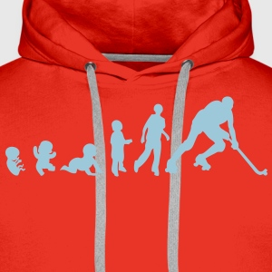 evolution rink hockey player1 bebe adult Tee shirts - Sweat-shirt à capuche Premium pour hommes