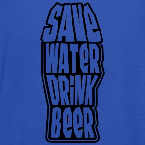 Save Water Drink Beer Koszulki - Tank top damski Bella