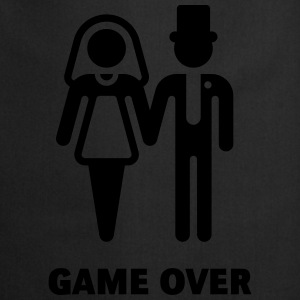 Game Over (Wedding / Marriage) T-Shirts - Cooking Apron