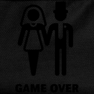 Game Over (Wedding / Marriage) T-Shirts - Kids' Backpack