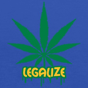 Legalize Weed Graffiti T-Shirts - Frauen Tank Top von Bella