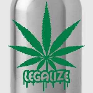 Legalize Weed Graffiti Magliette - Borraccia