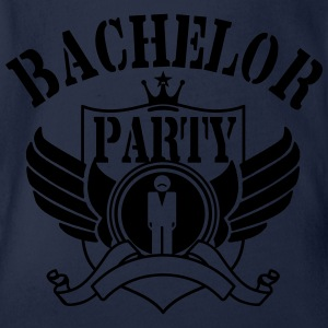Bachelor Party Shirts - Organic Short-sleeved Baby Bodysuit
