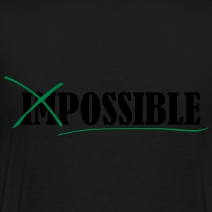 Impossible Sweat-shirts - T-shirt Premium Homme