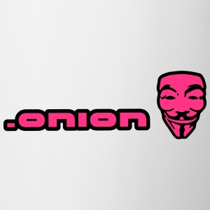 .onion anonymous Magliette - Tazza