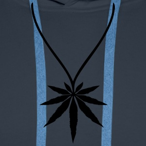 Weed Necklace Tee shirts - Sweat-shirt à capuche Premium pour hommes