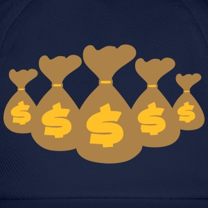 Money Bags T-shirts - Baseballkasket