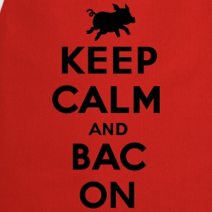Keep calm and bacon T-shirts - Keukenschort