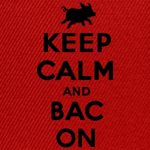 Keep calm and bacon T-shirts - Snapback cap