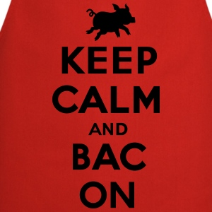 Keep calm and bacon Shirts - Keukenschort