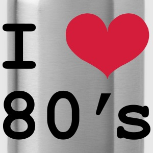 i love 80's T-shirts - Drinkfles