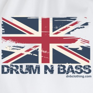 UK DNB Flag T-Shirts - Drawstring Bag