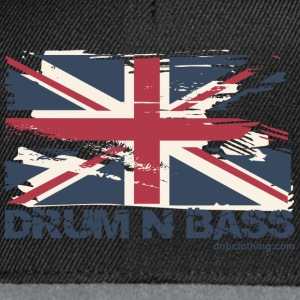 UK DNB Flag T-Shirts - Snapback Cap