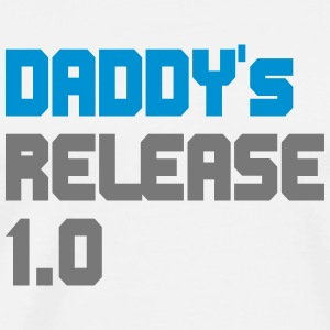 DADDY's RELEASE 1.0 Baby Body - T-shirt Premium Homme